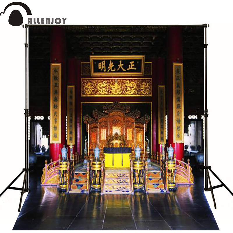 300*200cm(10ft*6.5ft) Chinese imperial palace office photography backdrops fotos 300 200cm 10ft 6 5ft photography backdrops scattered horse petal branch