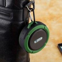 KOOYUTA Neue Outdoor Sport wasserdichte IP65 bluetooth lautsprecher stereo tragbare mit Saug Freisprecheinrichtung für Wandern Radfahren Reise