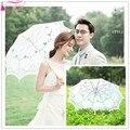 O novo vestido de noiva bordado de renda bordado guarda-chuva guarda-chuva frete grátis