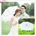 The new bride embroidered lace embroidery umbrella umbrella free shipping