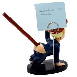 Image 5 - Trump Pen Holder Desk Decor Pen insertion With business card holder Shaking head cartoon doll as gift funny