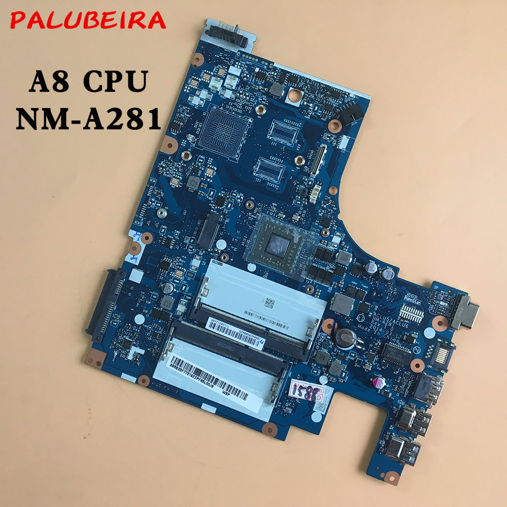 PALUBEIRA NM-A281 laptop Motherboard for Lenovo G50-45 A8U 100% tested fully work