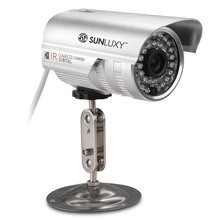 SUNLUXY Waterproof font b Outdoor b font Indoor Fake Camera Security Dummy CCTV Surveillance Camera Night
