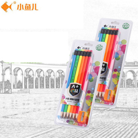 Best Quality Creative 6 Pcs Carton HB Standard Pencils With Rubber Non Toxic For Writing School