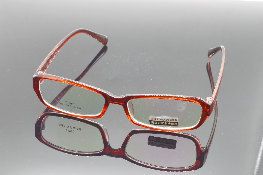 ▻Montura de gafas de moda TR90 rojo Por Encargo prescription miopía ...
