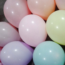 100pcs 10inch Macaron Color Latex Balloon wedding birthday party balloons  Valentines Day Decor Party supplies