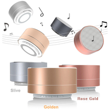 Metal Bluetooth Speaker a10 with Microphone Portable Mini Super Bass Subwoofer Stereo Speaker FM Radio Support TF Card MP3