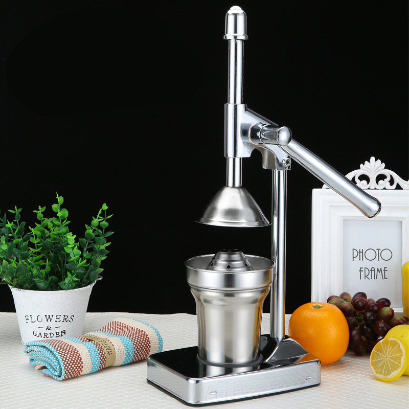 stainless steel fruit juicer press orange lemon squeezer reamer kitchen gadgets machine lemon. Black Bedroom Furniture Sets. Home Design Ideas