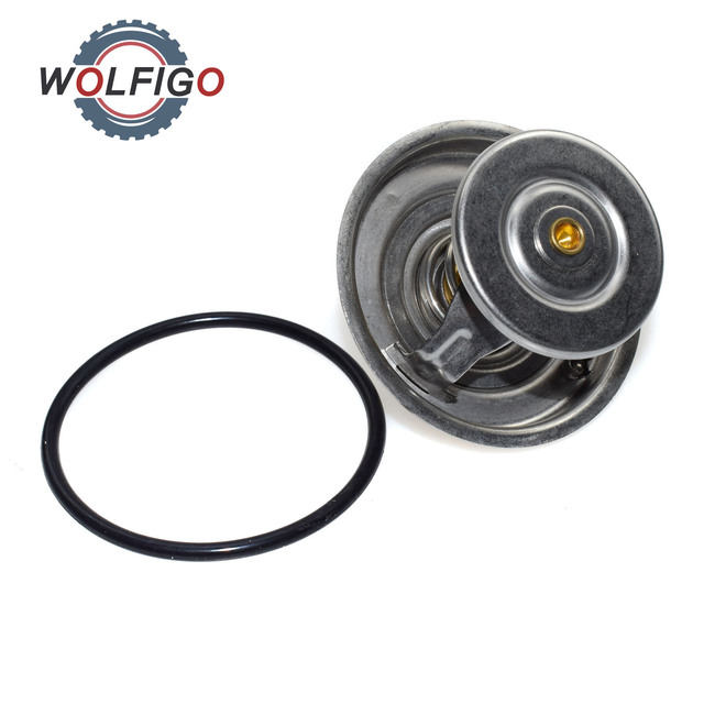 US $9.99 25% OFF|WOLFIGO Engine Coolant Thermostat Fit For MERCEDES on