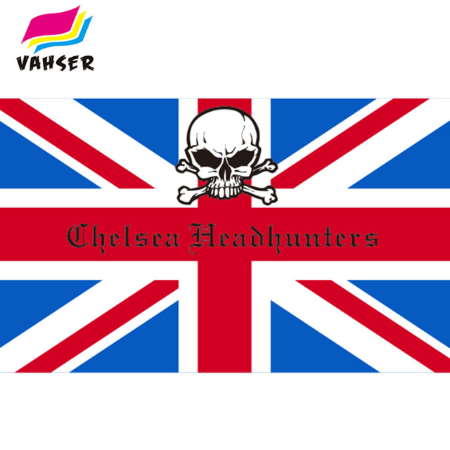 US $10 0 |Chelsea Headhunters Flag 3x5ft 100% Polyester Printed Flags Metal  Buckle Banners Home Decoration And Sports Flags Free Shipping-in Flags,