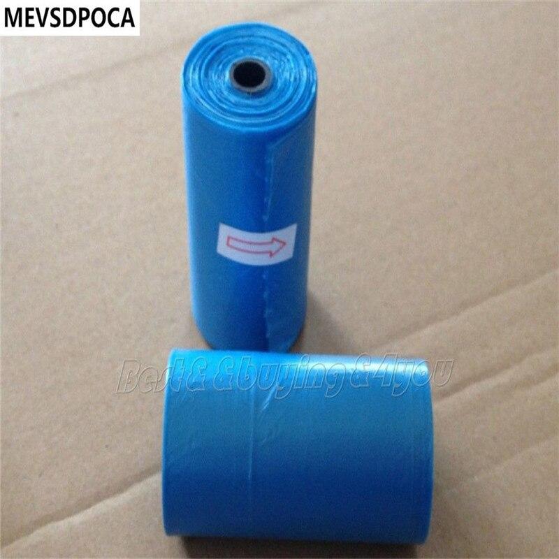MEVSDPOCA 15 Rolls 300 Dog Pet Waste Poop Poo Refill Core Pick Up Clean-Up Bags Random Color