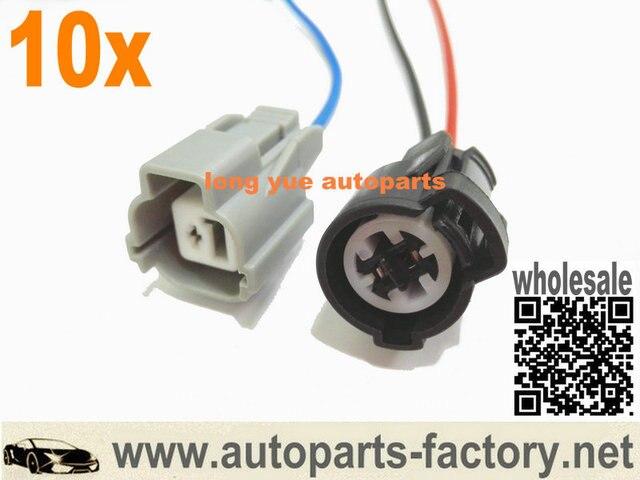 longyue 10set Vtec Oil Pressure Switch And Vtec Solenoid Plug Pigtail Kit  12