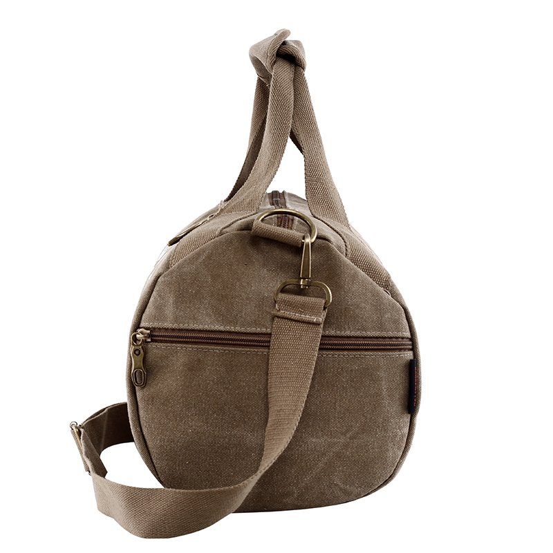 Male Men Travel Bag Folding Bag Protable Molle Women Tote Waterproof Nylon Casual Travel Duffel Bag Black