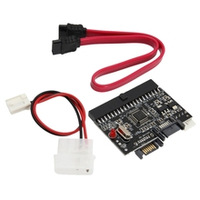 цена на 2 In 1 Ide To Sata/Sata To Ide Adapter Converter Support Serial Ata 40pin Ide Port Serial Ata Port 4 Pin Power Connector      #8