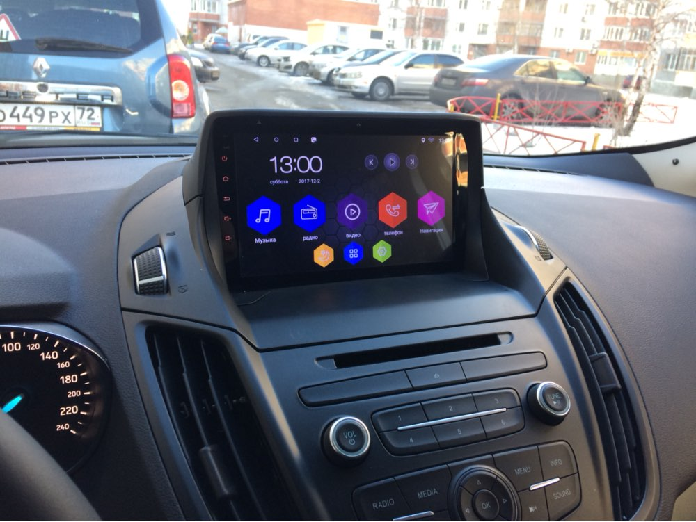 9 otojeta android 6 0 1 car DVD multimedia for 2013 FORD KUGA Europe Ver multimedia