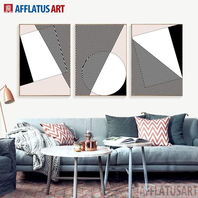 Afflatus nordic klassische meister ebene abstrakte ideen leinwand malerei große wand kunstdruck poster wand bilder für
