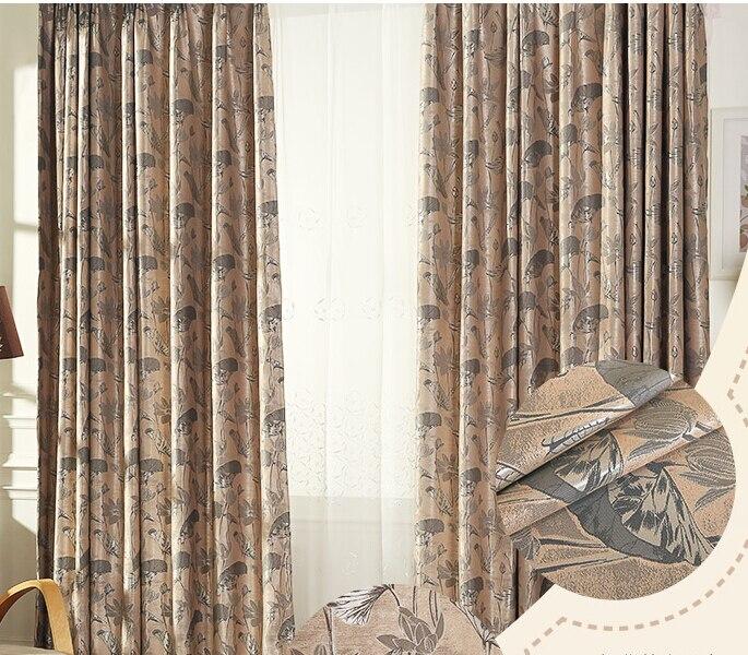 nueva hermosa floral pao de la cortina cortina dormitorio de la ventana balcn cortina