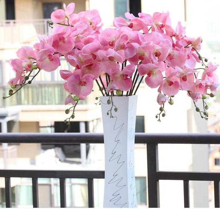 Indigo Wholesale 50pcs Phalaenopsis Latex Coating Orchid Real