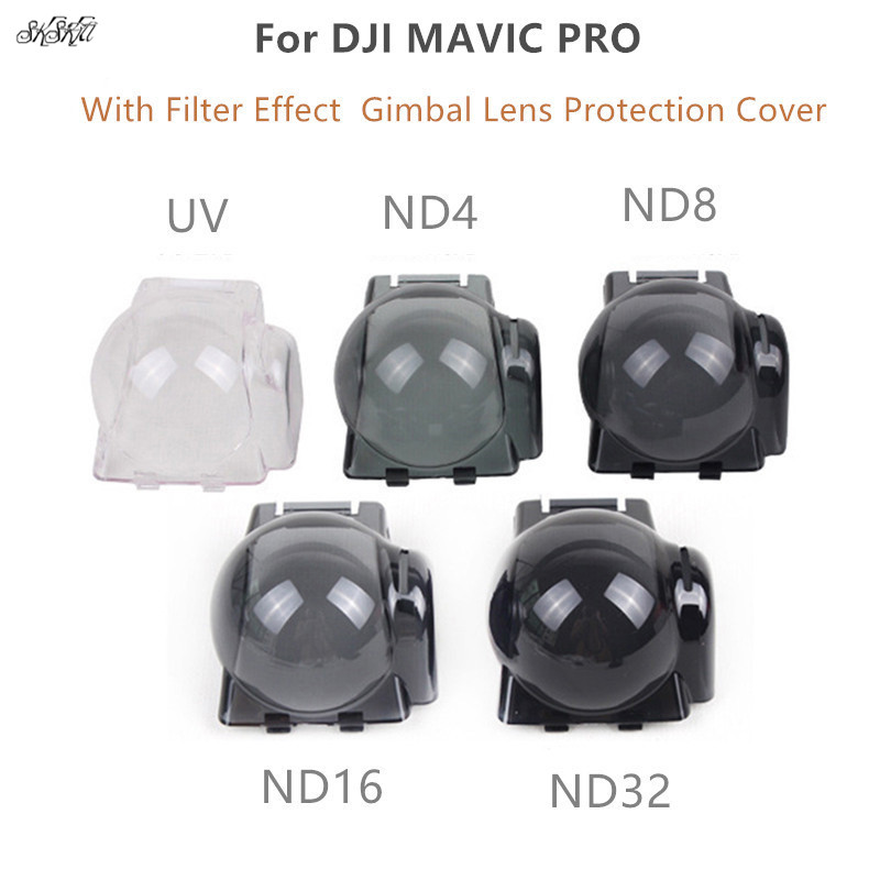 Camera Gimbal Lens Protection Cover With Filter Effect UV ND4 ND8 ND16 ND32 Filters For DJI Mavic Pro Drone Accessories Camera Gimbal Lens Protection Cover With Filter Effect UV ND4 ND8 ND16 ND32 Filters For DJI Mavic Pro Drone Accessories