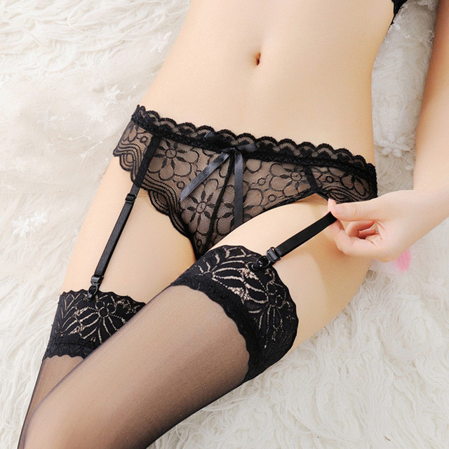 And stockings panties garter belt