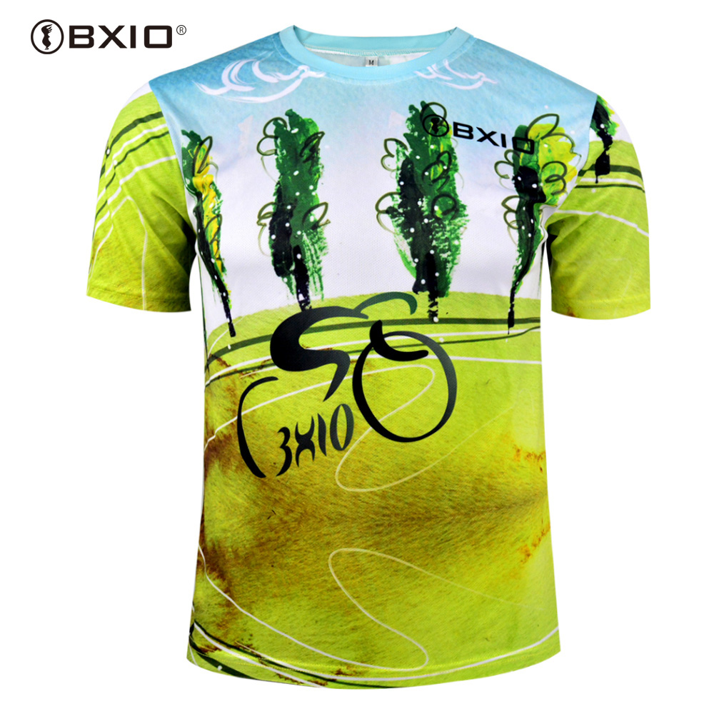 BXIO Brand Men Cycling Jersey Only Short Sleeves Pro Team Bike Wear Ropa Ciclismo MTB Bicycle