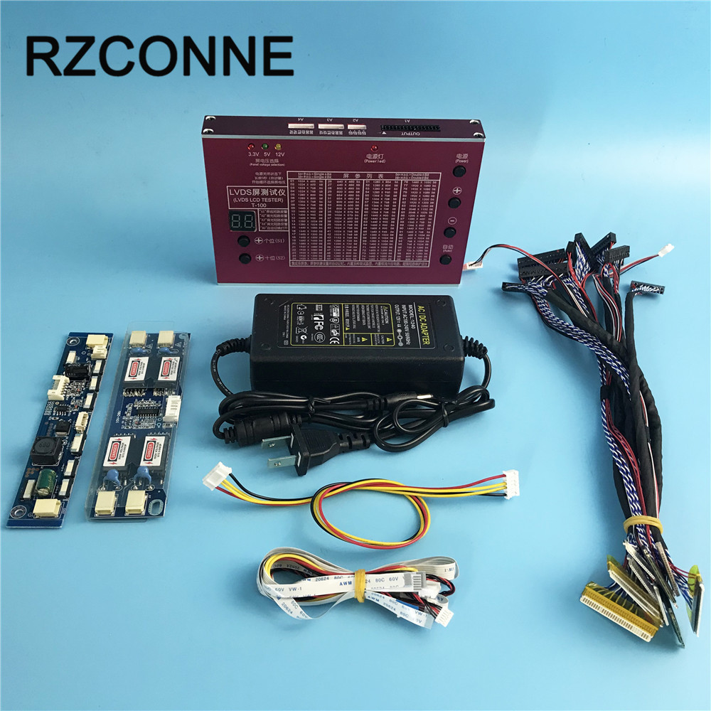 LED LCD Panel Tester Tool For TV Laptop Repair With Built in 100 ...