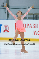 Crystal Custom Figure Skating Dress Girls New Brand Ice Skating Clothes For Competition DR4639