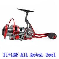 CATKING ACE20 12BB / 5.1:1 Full Metal Spinning Fishing Reel Ultra Light Waterproof Rock And Ice Reel All Metal Reel 2000