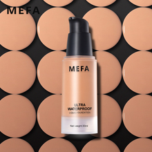 MEFA 1Pcs Base Foundation Waterproof Long-Lasting 30ML Liquid Foundation Smooth Texture For Base Matte Face Makeup Comestic