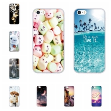 For iPhone 5S Case Soft Silicone TPU Cover For iPhone 5 5S SE Cover Animal Patterned Coque For iPhone 5 5s se Phone Case Shell wj mediumpurple iphone 5 5s