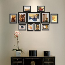 Giftgarden Photo Frame Black Picture Frames For Living Room Frames For Picture and Posters, Set of 11 PVC Covering Front