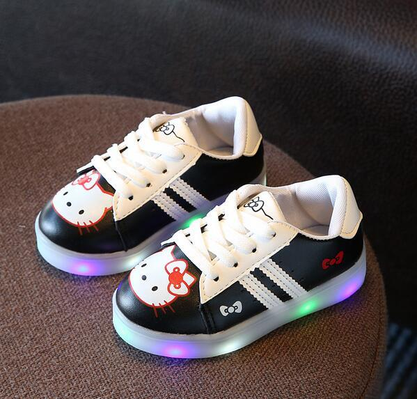 Chaussures Kitty Led pour enfant