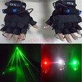 532nm laser verde refere-se a 4 luvas de laser adereços performances de palco para DJ Clube Noite adereços de Dança Do Laser