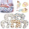 Alimentação Travesseiro De Enfermagem Multi-funcional Infantil Tampa Removível Almofada de Mama Maternidade Suporte Bonito do Teste Padrão Animal Do Bebê Segurança