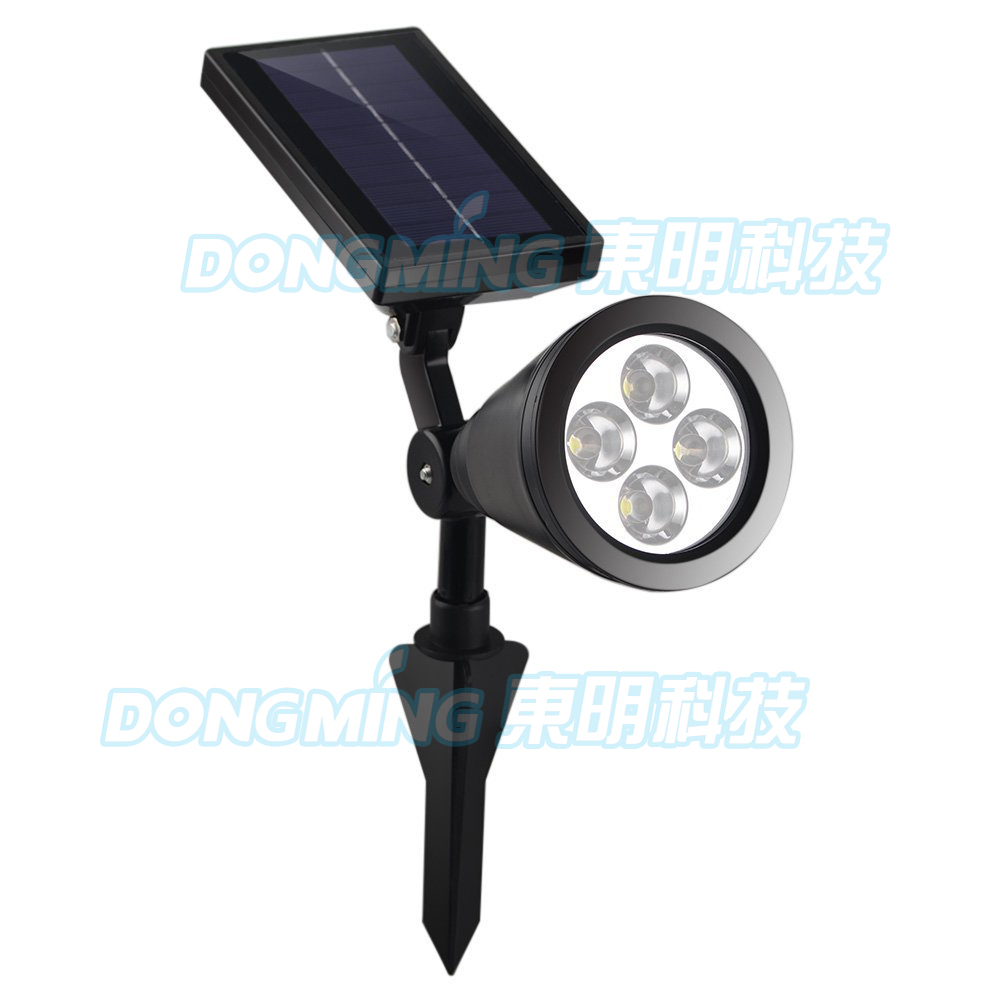 New arrival adjustable brightness 4 led solar powered spotlight new arrival adjustable brightness 4 led solar powered spotlight outdoor garden landscape lawn yard path spot decor lamp in solar lamps from lights mozeypictures Choice Image