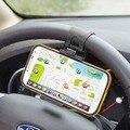 ENKAY Sombrero Príncipe para iPhone/Samsung Sostenedor Universal del Teléfono Del Volante Del Coche Del Sostenedor Del Montaje para Ancho de 5-8 cm Smartphones