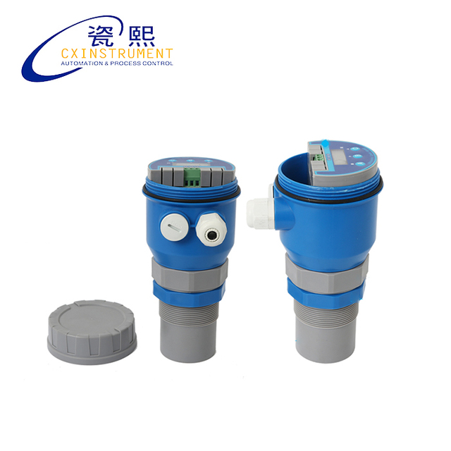 4 wire ultrasonic level transmitter suzuki sidekick wiring diagram liquid sensor 10 meter test range 0 4m blind area and two wires 20ma output water tank