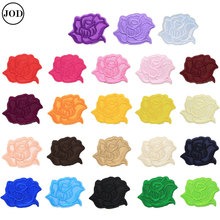 Flower Lace Embroidery Iron on Stickers Applique Clothes Patch Embroidered Patches for Clothing Rose Badges Fabric flower lace embroidery iron on stickers applique clothes patch embroidered patches for clothing rose badges fabric