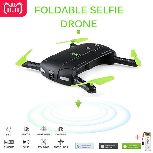 DHD D5 Selfie FPV Drone Mit FPV HD Kamera Faltbare Tasche RC Drohnen Telefon Control Hubschrauber VS JJRC H37 Mini quadcopter Spielzeug