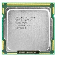intel core 2 i7 870 intel i7 870 i7 processor Quad Core 2.93GHz 95W LGA 1156 8M Cache Desktop CPU warranty 1 year