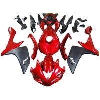 red matte black fairing kit for YAMAHA YZF R1 fairings 2007 2008 YZF R1 07 08 fairings injection molding hulls kit TP06