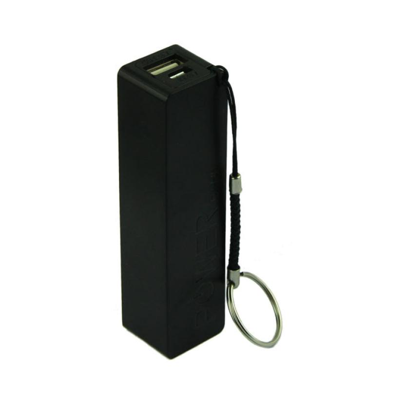 Portable Power Bank 18650 External Backup Battery Charger High Quality USB Electricity Charger With Key Chain Aug24