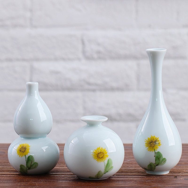 Jingdezhen Handmade Handpainted Porcelain Flower Vase Home Decor