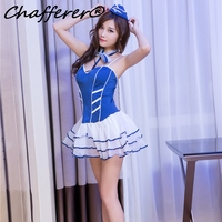 Chafferer Hanging Neck Lace Backless Cute Maid Suits Uniform Festival Princess Role Play Sexy Lingerie Adult