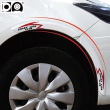 цена на Car wheel eyebrow bumper strip for Chery Tiggo 5 3 FL X1 Arrizo 7 M7 E5 E3 A3 A1 Fulwin2 QQ QQ3