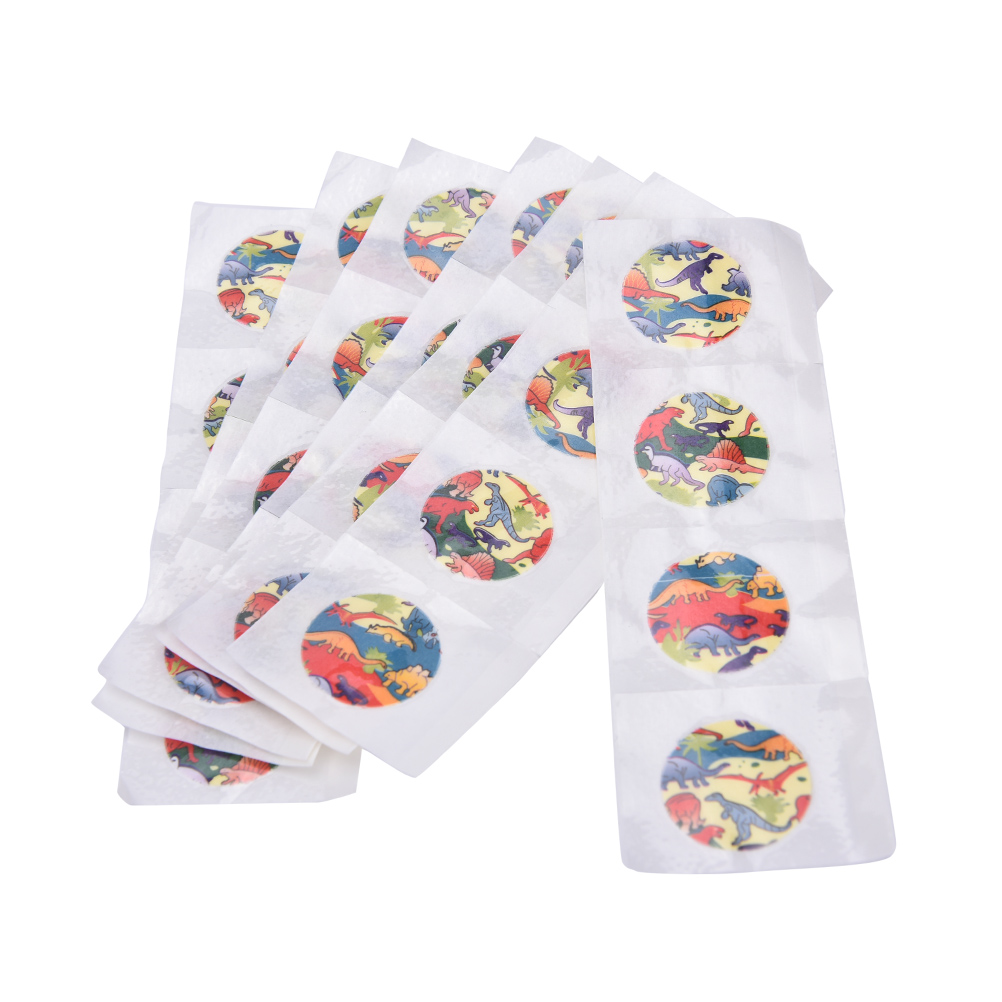 100Pcs/Pack Skin Care Round Waterproof Bandage Band-Aid Adhesive Wound Emergency First Aid Bandage for Children Kids
