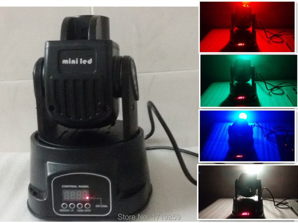 6pcs/lot Fast Shipping LED Spot 15W RGB Moving Head Light Free Shipping  8pcs lot free shipping best lighting led moving head spot led 90w moving heads factory price