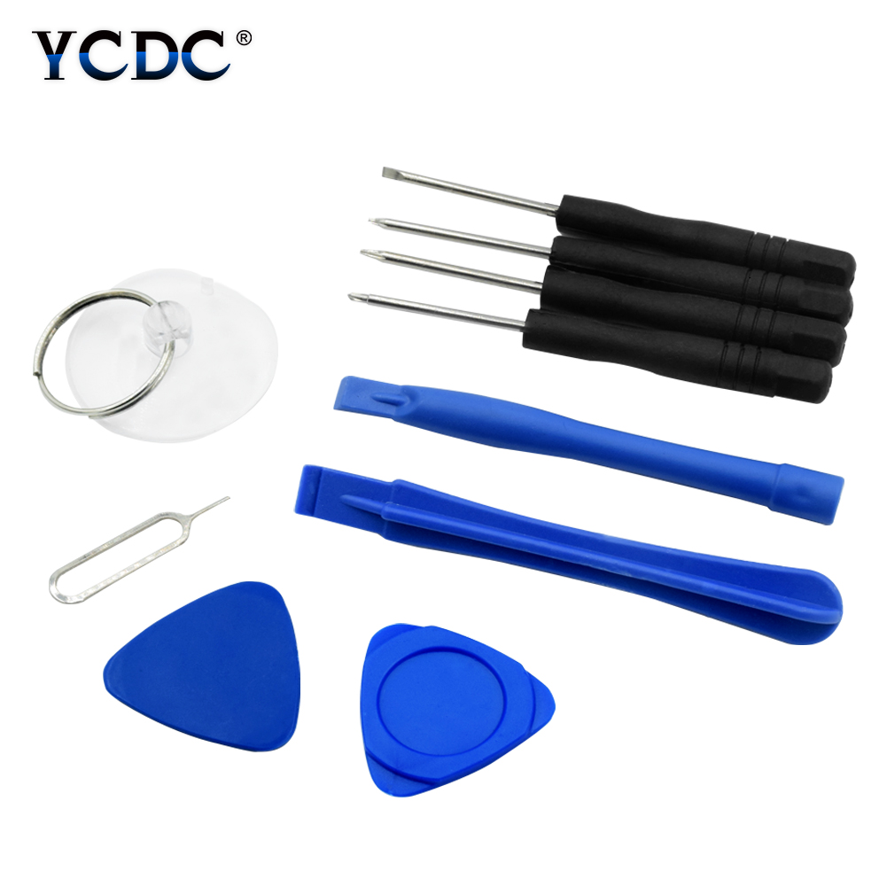 Cell Phones Opening Pry Repair Tool Kits Smartphone Screwdrivers Tool Set For samsung s7 lcd s6 edge xiaomi multi tool image