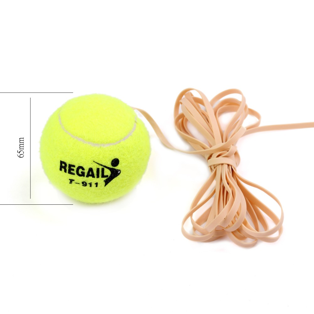 Andux Tennis Ball Sports Tennis Training Balls Trainer Exercise Ball With Rubber Rope Tennis Accessories