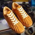 Nueva Primavera Otoño Hombres Casual Zapatos Al Aire Libre Respirable con cordones de Zapatos Planos de Los Hombres de Lujo de Marca Zapatillas Deportivas Hombre 2017